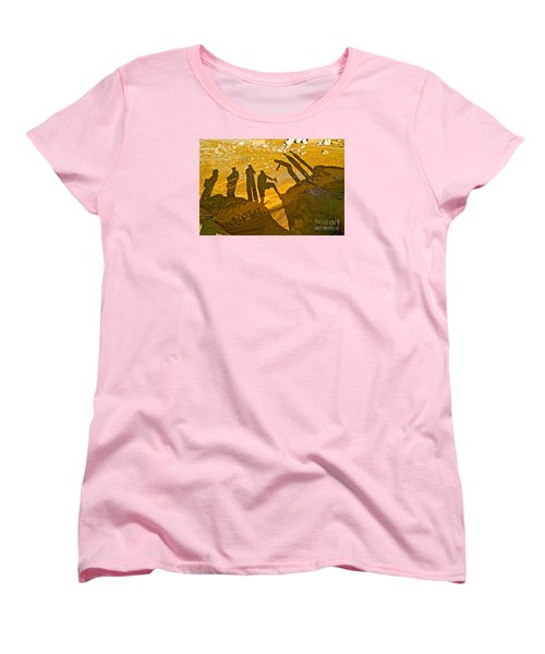 Self Portrait  Women's T-Shirt (Standard Cut) by Michael Cinnamond