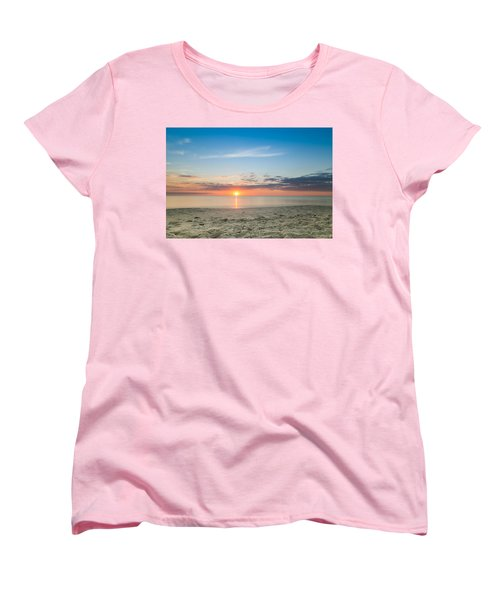 Sundown Women's T-Shirt (Standard Cut) by Christopher L Thomley