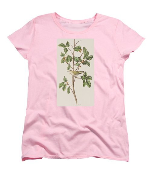 Tennessee Warbler Women's T-Shirt (Standard Cut) by John James Audubon