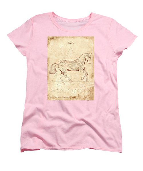 The Horse's Canter Revealed Women's T-Shirt (Standard Cut) by Catherine Twomey