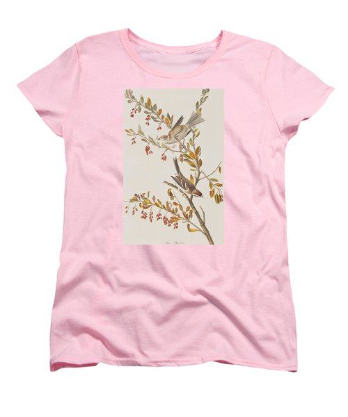 Tree Sparrow Women's T-Shirt (Standard Cut) by John James Audubon