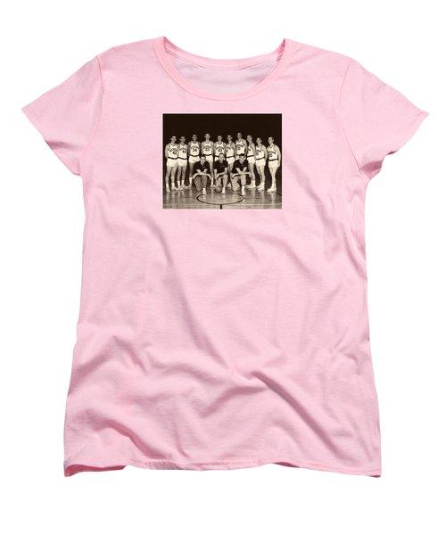University Of Michigan Basketball Team 1960-61 Women's T-Shirt (Standard Cut)