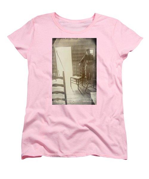 Welcome Women's T-Shirt (Standard Cut) by Randall Cogle