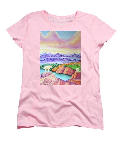 Wonderland Women's T-Shirt (Standard Cut) by Tracy Dennison