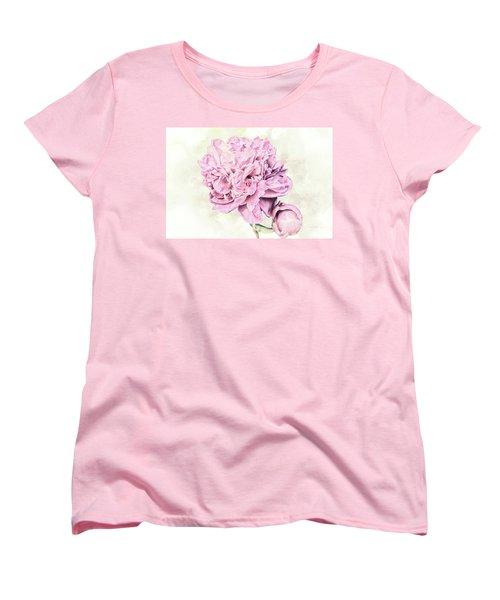 10861 Spring Peony Women's T-Shirt (Standard Cut) by Pamela Williams