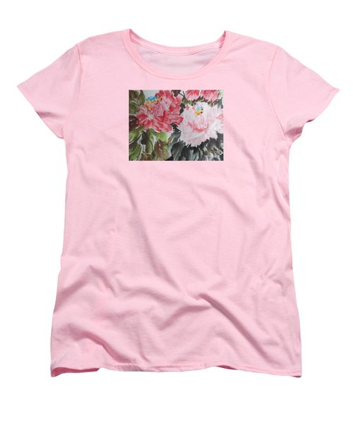 11192015-0756 Women's T-Shirt (Standard Cut) by Dongling Sun