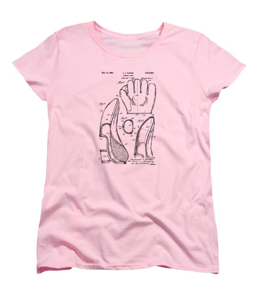 1941 Baseball Glove Patent - Vintage Women's T-Shirt (Standard Cut) by Nikki Marie Smith