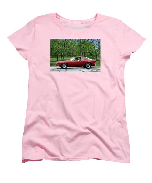 1963 Studebaker Avanti Coupe Women's T-Shirt (Standard Cut) by Tim McCullough