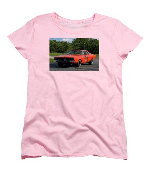 1969 Dodge Charger Rt Women's T-Shirt (Standard Cut) by Tim McCullough
