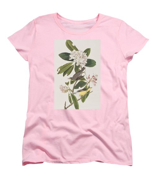 Canada Warbler Women's T-Shirt (Standard Cut) by John James Audubon