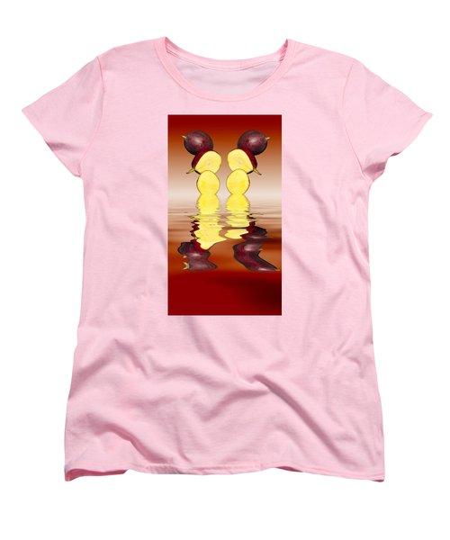 Fresh Ripe Mango Fruits Women's T-Shirt (Standard Cut) by David French
