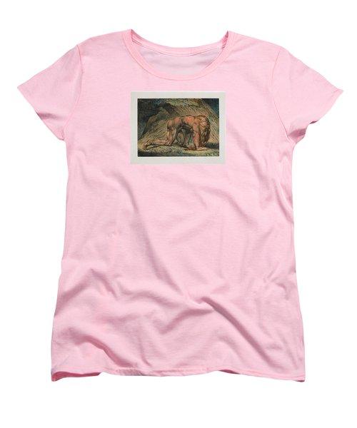 Nebuchadnezzar Women's T-Shirt (Standard Cut) by William Blake