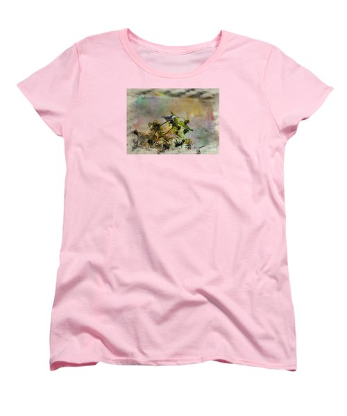 White Breasted Nuthatch Women's T-Shirt (Standard Cut) by Yumi Johnson
