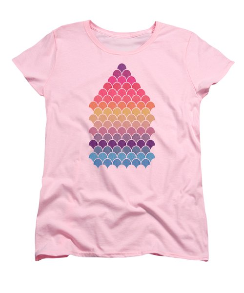 Lovely Pattern Women's T-Shirt (Standard Cut) by Amir Faysal