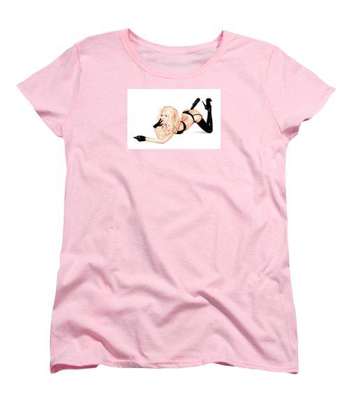 Bottoms Up Women's T-Shirt (Standard Cut) by Brian Gibbs