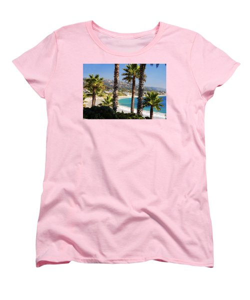 Laguna Beach California Coast Women's T-Shirt (Standard Cut) by Utah Images