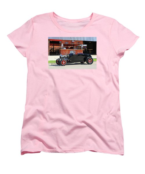 Women's T-Shirt (Standard Cut) featuring the photograph 32 Roadster by Christopher McKenzie