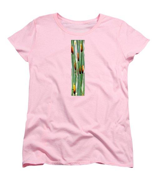 Women's T-Shirt (Standard Cut) featuring the photograph Bamboo Grass by Werner Lehmann
