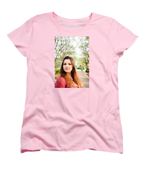 Women's T-Shirt (Standard Cut) featuring the photograph 5545-2 by Teresa Blanton