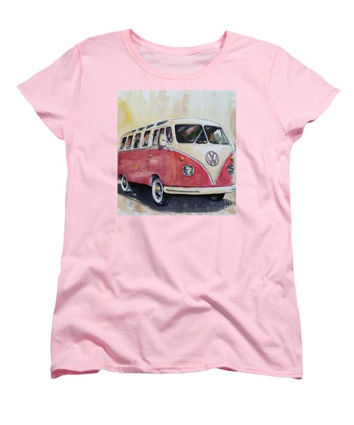 '63 V.w. Bus Women's T-Shirt (Standard Cut) by William Reed