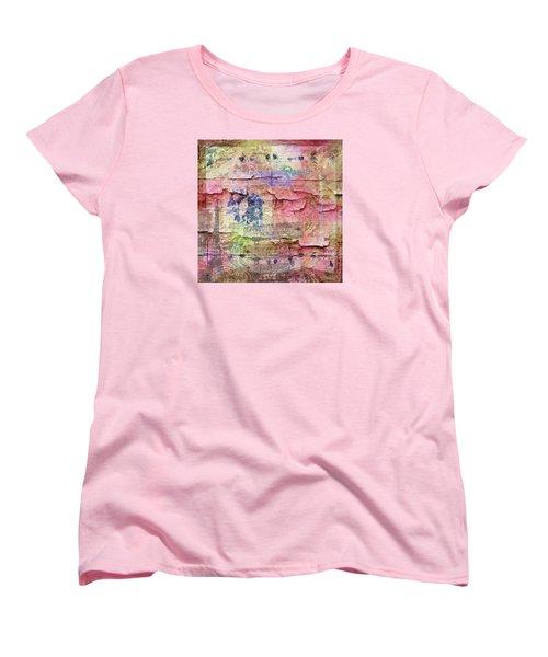 A City Besieged Women's T-Shirt (Standard Cut) by Paula Ayers