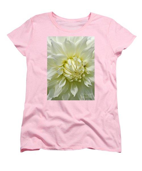 A Secret Visitor Women's T-Shirt (Standard Cut) by Cindy Manero