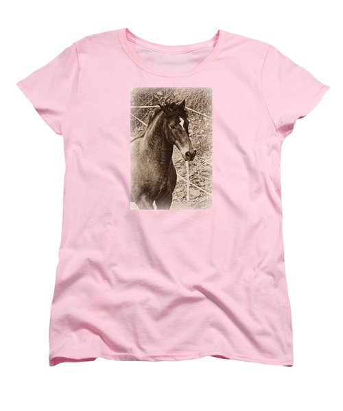 A Spanish Noble Women's T-Shirt (Standard Cut) by Clare Bevan