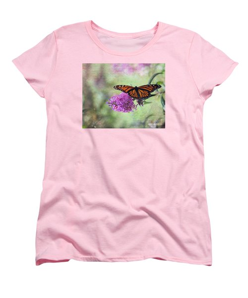 A Touch Of Spring Women's T-Shirt (Standard Cut) by Laurinda Bowling