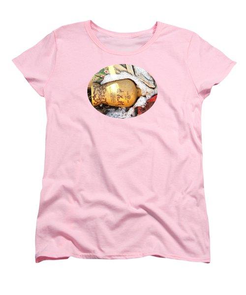 Women's T-Shirt (Standard Cut) featuring the photograph Abandoned Bottle by Ethna Gillespie