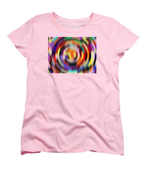Abstract 120116 Women's T-Shirt (Standard Cut) by Maciek Froncisz