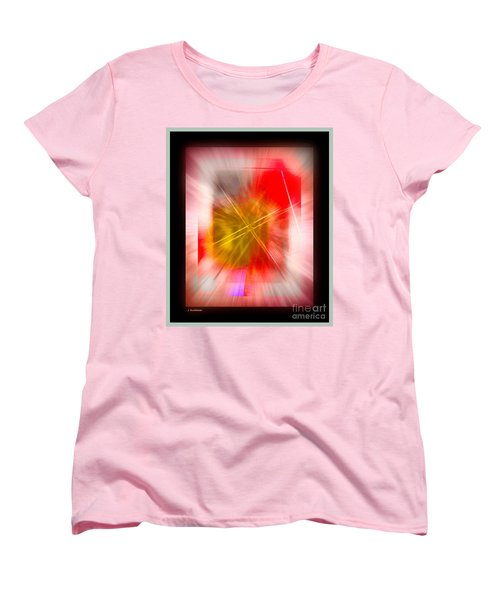 Abstract 530-2016 Women's T-Shirt (Standard Cut) by John Krakora