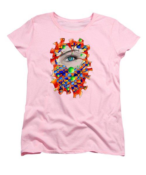 Abstract Digital Art - Delaneo V3 Women's T-Shirt (Standard Fit)
