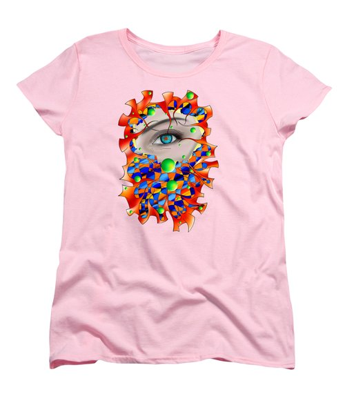 Abstract Digital Art - Delaneo V3 Women's T-Shirt (Standard Fit)