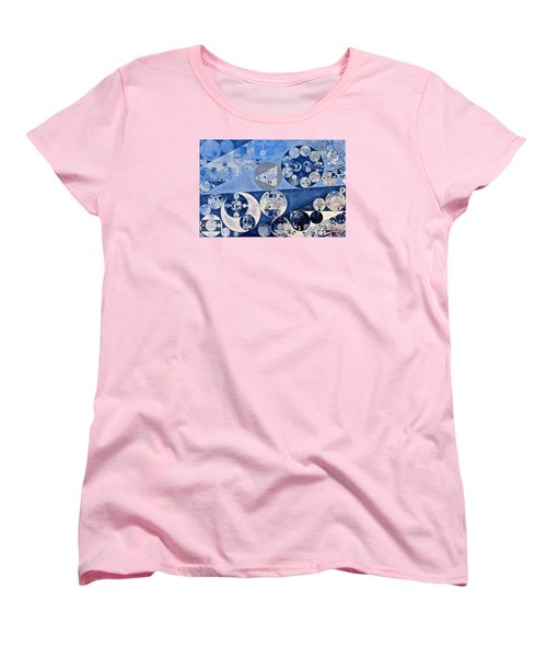 Abstract Painting - Blue Whale Women's T-Shirt (Standard Cut) by Vitaliy Gladkiy