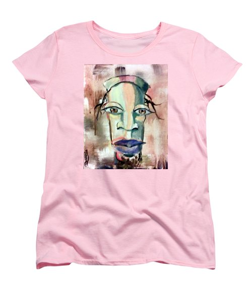 Abstract Young Man #2 Women's T-Shirt (Standard Cut) by Raymond Doward