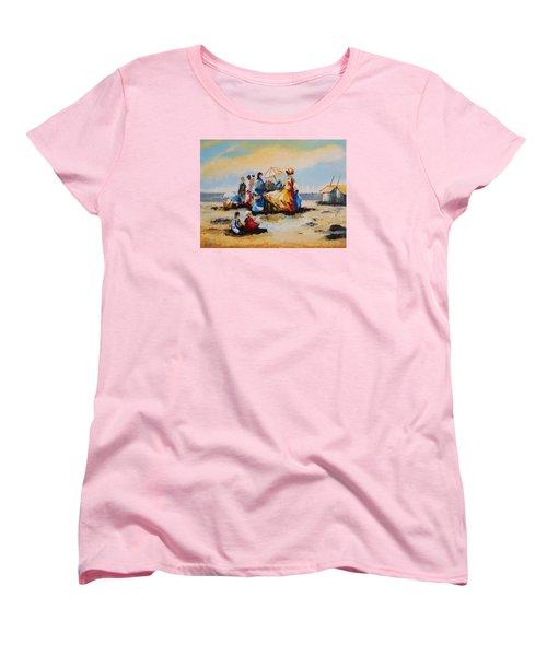 Acrylic Msc 191 Women's T-Shirt (Standard Cut) by Mario Sergio Calzi
