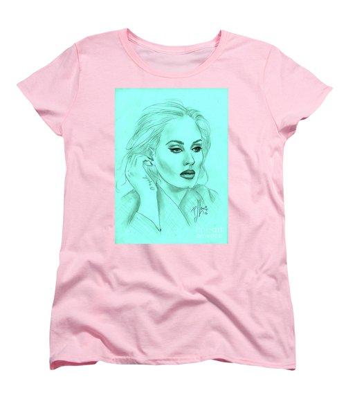 Adele Women's T-Shirt (Standard Cut) by P J Lewis