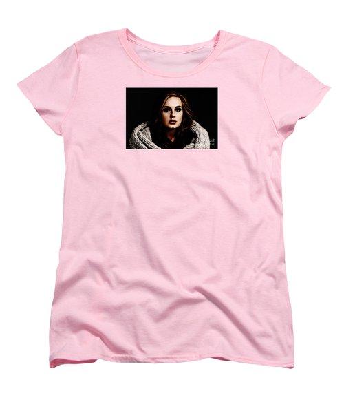 Adele Women's T-Shirt (Standard Cut) by The DigArtisT