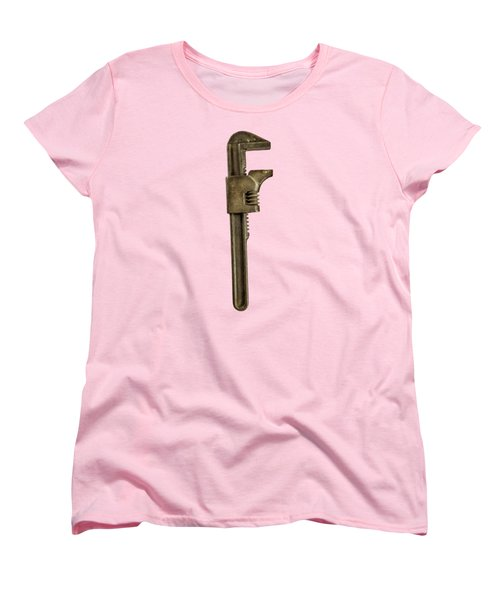 Adjustable Wrench Backside Women's T-Shirt (Standard Fit)