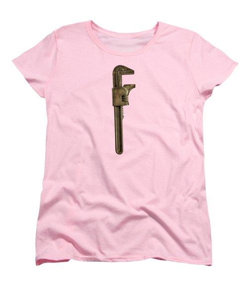 Adjustable Wrench Backside Women's T-Shirt (Standard Fit)