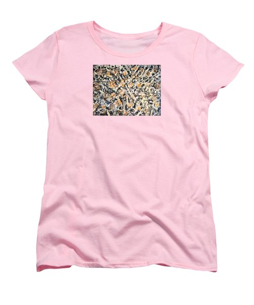 Women's T-Shirt (Standard Cut) featuring the painting Africa Iv by Fereshteh Stoecklein