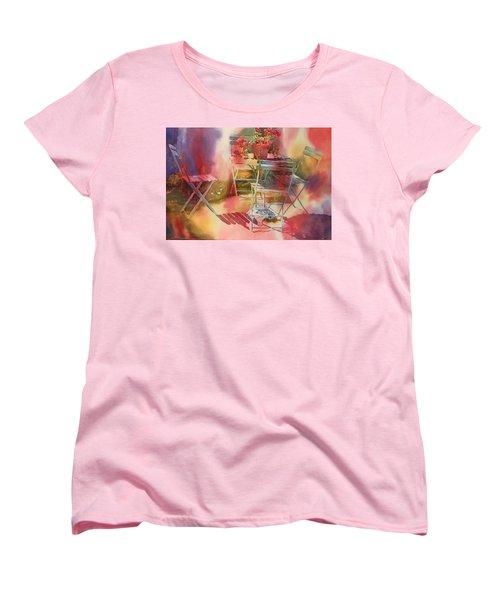 Afternoon Light Giverny, France Women's T-Shirt (Standard Cut) by Tara Moorman