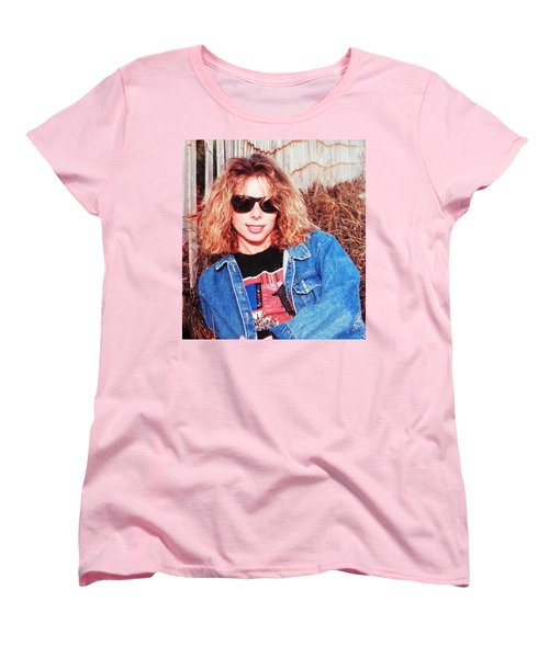 Ahhhh Belindas Beach Days Women's T-Shirt (Standard Cut) by Belinda Lee
