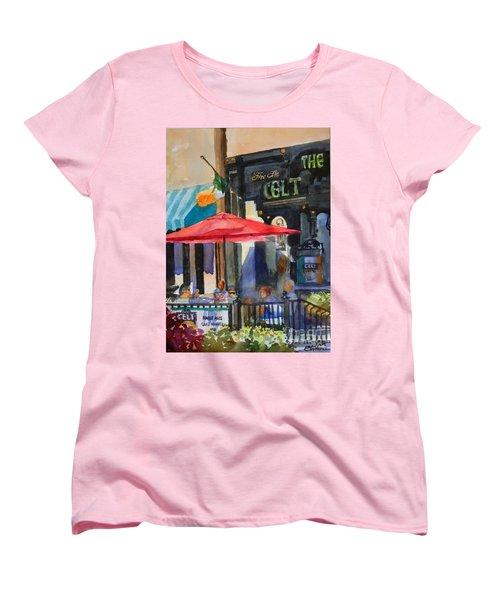 Al Fresco At The Celt Women's T-Shirt (Standard Cut)