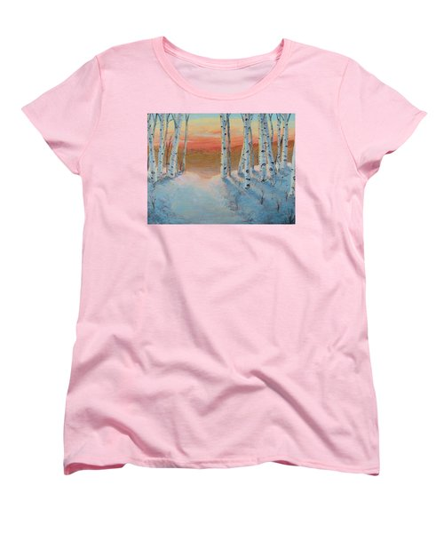 Alaskan Road Women's T-Shirt (Standard Cut)