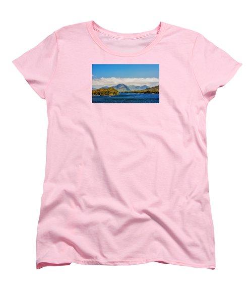 Women's T-Shirt (Standard Cut) featuring the photograph Alaskan Wilderness by Lewis Mann