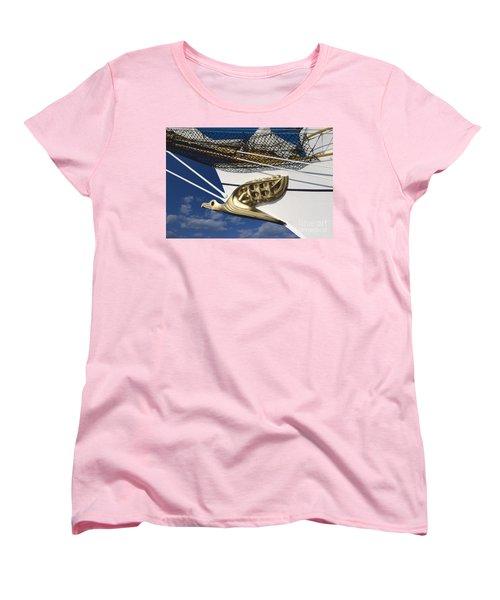 Albatross Figurehead Women's T-Shirt (Standard Cut) by Heiko Koehrer-Wagner