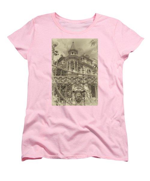 Albert Chamas Villa Women's T-Shirt (Standard Cut)