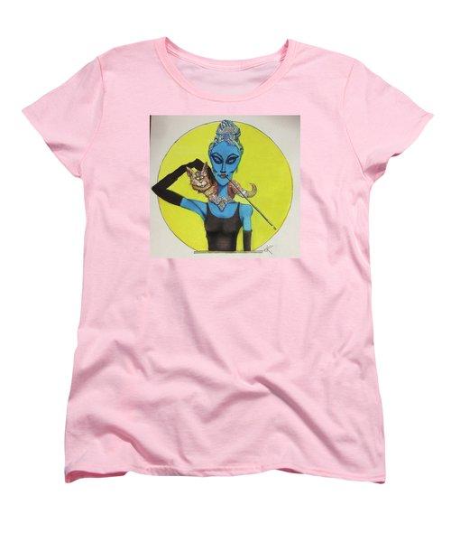 Alien At Tiffany's Women's T-Shirt (Standard Cut)