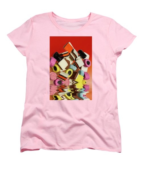 Allsorts Sweets Women's T-Shirt (Standard Cut) by David French